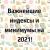 Важнейшие индексы и минимумы на 2021!